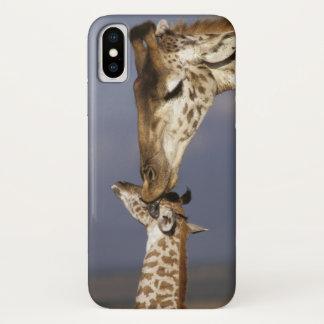 Africa, Kenya, Masai Mara. Giraffes (Giraffe iPhone X Case