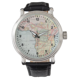 AFRICA: MAP, 1894 WRIST WATCHES