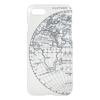 Africa Map Atlas Globe Illustration Minimalist iPhone 7 Case