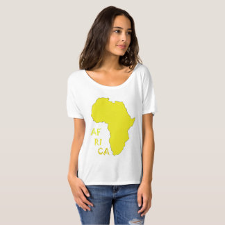 Africa Map Funky Shirt