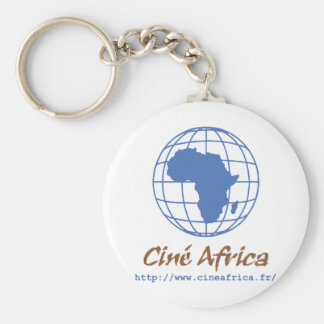 Africa movies basic round button key ring