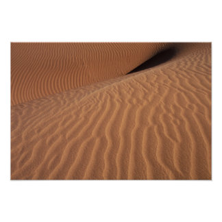 Africa Namibia Sossusvlei Region Sand dunes Posters