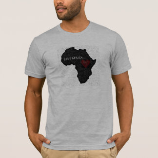 Africa_outline_bw copy T-Shirt