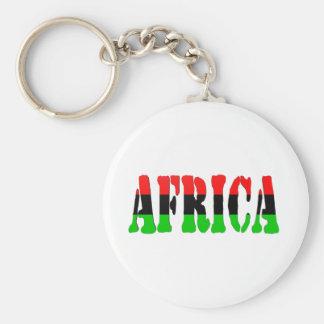 Africa Pan-African Flag Keychain