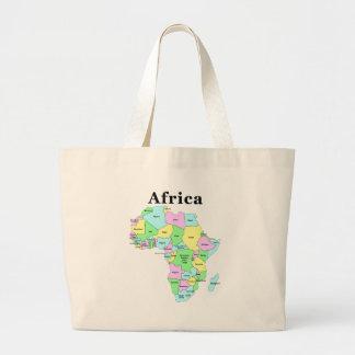 Africa - Political Map Jumbo Tote Bag