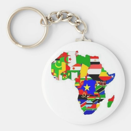 Africa Proud Key Chains
