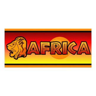 Africa rack card