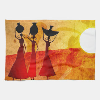 Africa retro vintage style gifts 27 tea towel