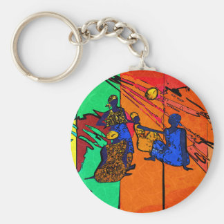 Africa retro vintage style gifts keychains