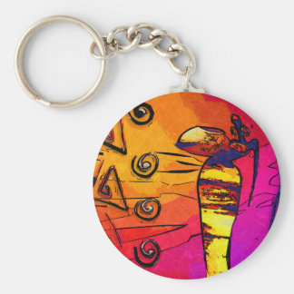 Africa retro vintage style gifts key chain