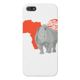Africa rhino iPhone 5 cases