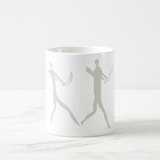 Africa rock painting humans africa cave kind peopl coffee mug