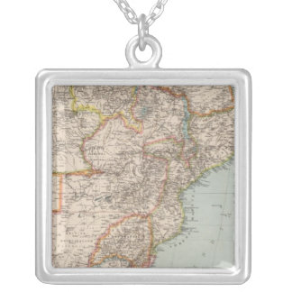 Africa, S of Equator Silver Plated Necklace
