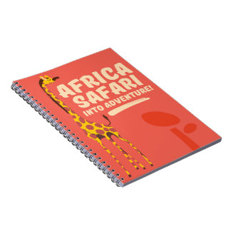 Africa Safari Into Adventure! Notebook