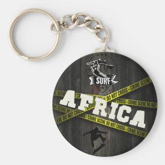 AFRICA - Skater Style Basic Round Button Key Ring