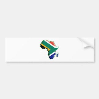 AFRICA: SOUTH AFRICA BUMPER STICKER