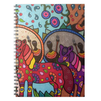 Africa Spiral Notebook
