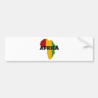Africa take a rest cokes bumper sticker