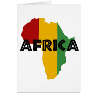 Africa take a rest cokes card