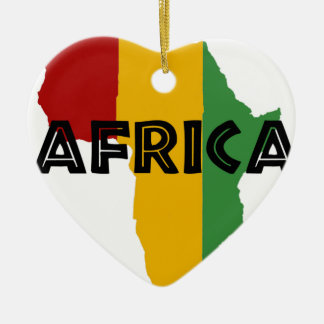 Africa take a rest cokes ceramic ornament