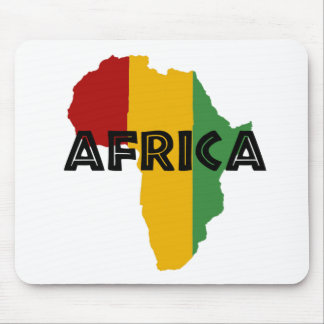 Africa take a rest cokes mouse pad