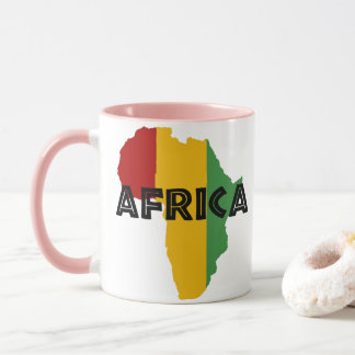 Africa take a rest cokes mug