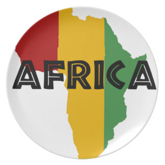 Africa take a rest cokes plate