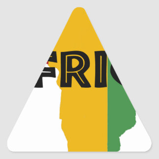 Africa take a rest cokes triangle sticker