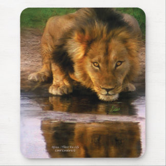 Africa - Thirst For Life Mousepad