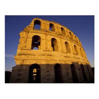 Africa, Tunisia, El Jem. Ruins of a Roman 3 Postcard