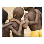 Africa, West Africa, Ghana, Yendi. Close-up shot Post Card
