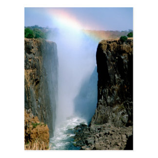 Africa, Zambia, Victoria Falls National Park. Postcard
