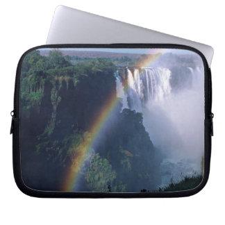 Africa, Zimbabwe. Victoria Falls Computer Sleeves