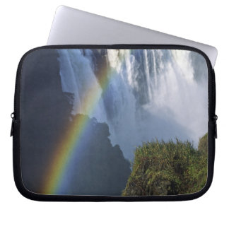Africa, Zimbabwe, Victoria Falls Laptop Computer Sleeves