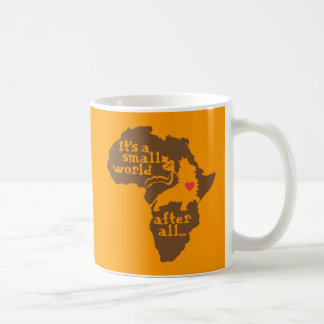 African Adoption Small World Coffee Mug
