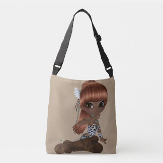 African America Lady All-Over-Print Cross Body Bag