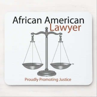 African America Lawyer Mousepad