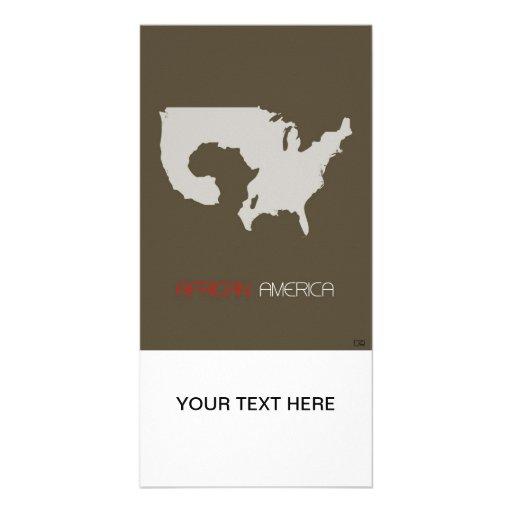 African America Photo Card
