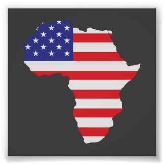 African American Africa United States Flag Photograph