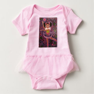 African American Angel Baby Body Suit Baby Bodysuit