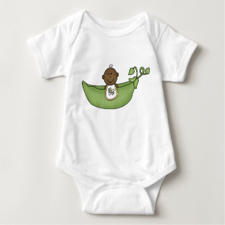 African American Baby Pea Pod Baby Bodysuit