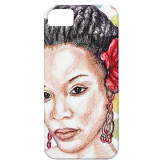 African American Beauty iPhone 5 Case