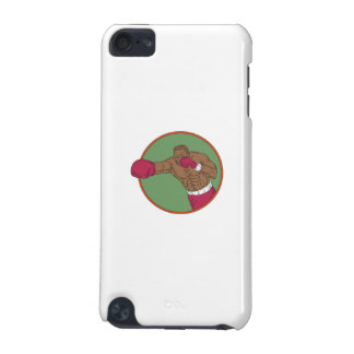African-American Boxer Right Hook Circle Drawing iPod Touch 5G Covers