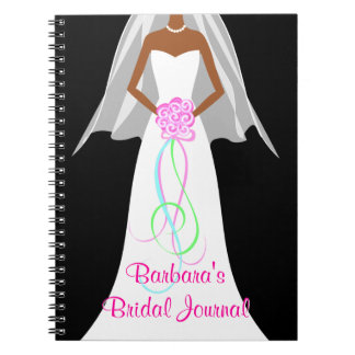 African American Brides - Wedding Journal Notebook