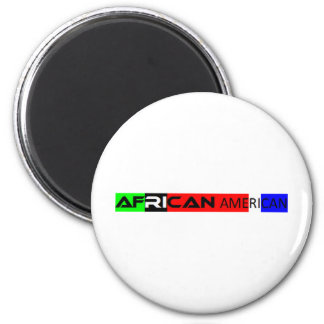 African American Bumper Sticker Magnet