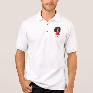 African American cartoon girl T-Shirt