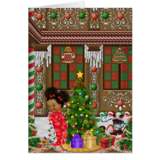 African American Christmas Card