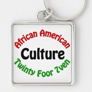 African American Culture Key Chain