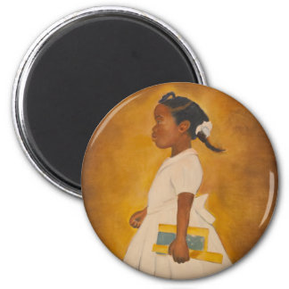 African American Fine Art 6 Cm Round Magnet