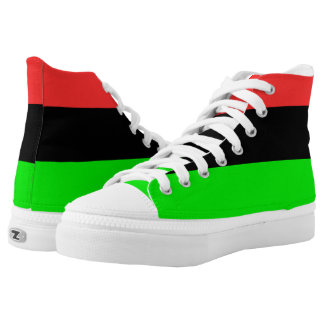 African American Flag High Tops